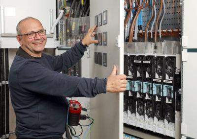 Elektroinstalltionen für öffentlicher Auftraggeber, Industrie-, Gewerbe- oder Privatkunden