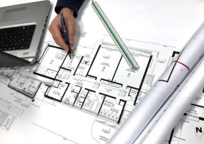 Detaillierte und fachlich einwandfreie Planung und Projektierung